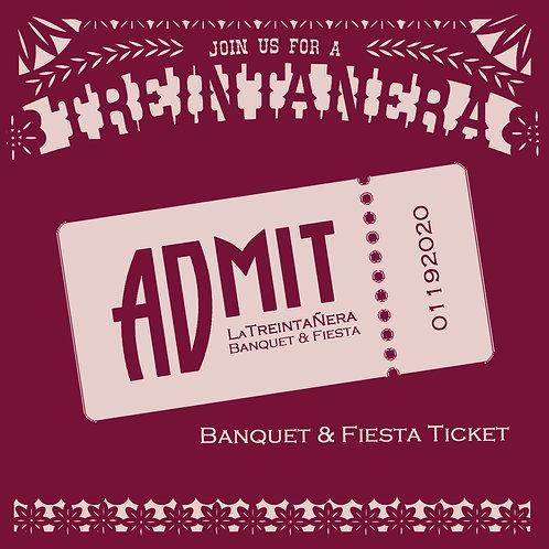Baquet Ticket