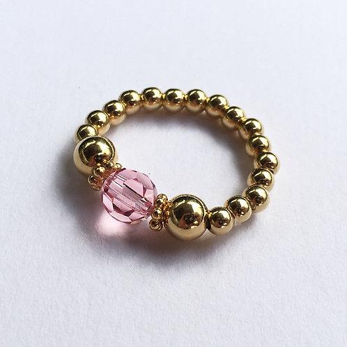 Pink Devani Ring (Gold)