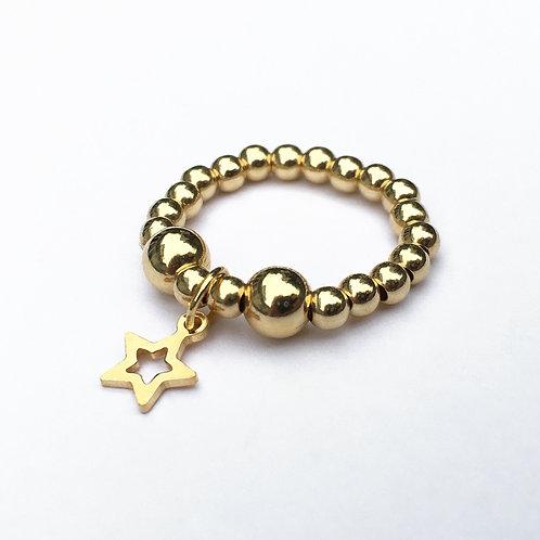 Gold Sitara Ring