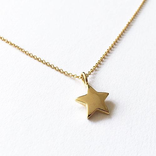 Celeste Gold Star Necklace