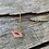Thumbnail: Lip Candy Necklace (Gold)