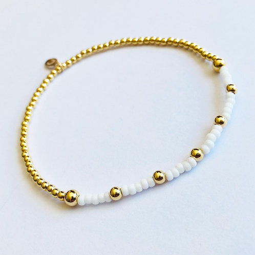 Pina Colada Anklet (Gold)