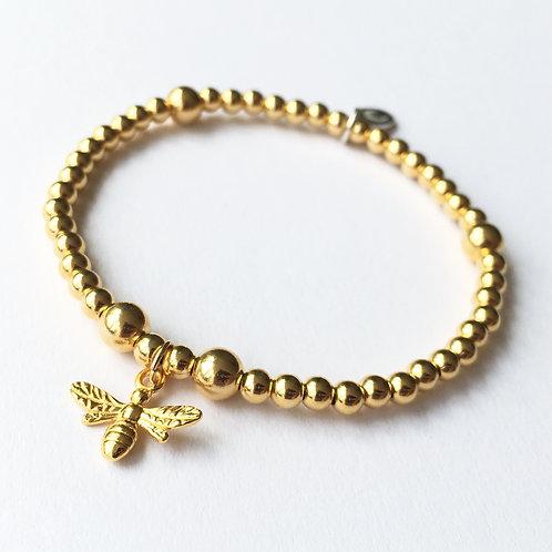 The Gold Honeybee
