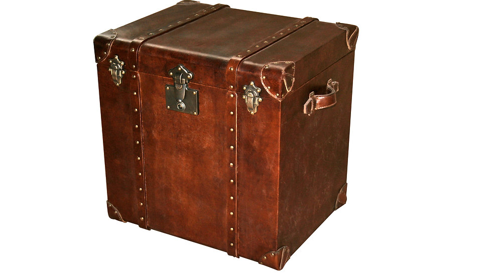 OXFORD TRUNK sidetable