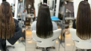 髪質改善 復元日記(ヘアカラー編)