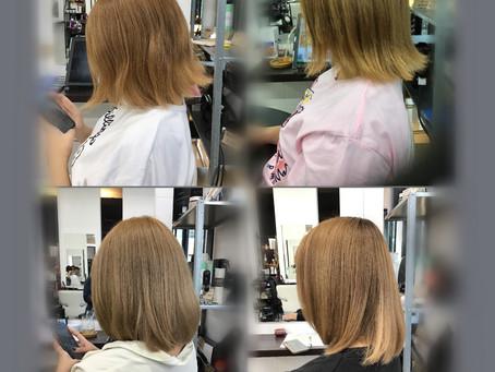 髪質改善 復元日記(ブリーチ毛編)
