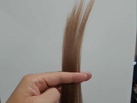 髪質改善 復元日記(ブリーチ編)