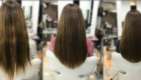 髪質改善 復元日記(ブリーチ毛)