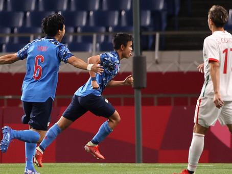 TRI olímpico pierde 2-1 contra Japón