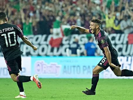 Contundente 3-0 de México a Honduras y pasa a Semifinales de la Copa Oro
