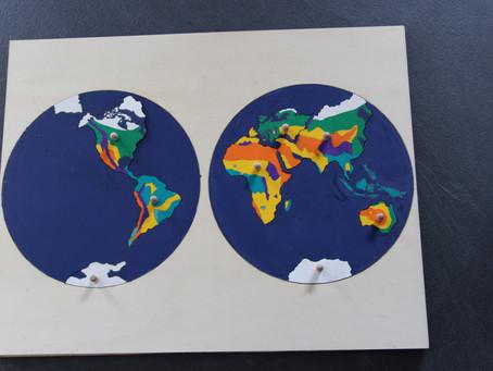Biomes et continents
