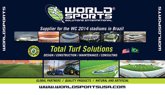 World Sports Turf Solutions at FIFA World Cup Brazil 2014