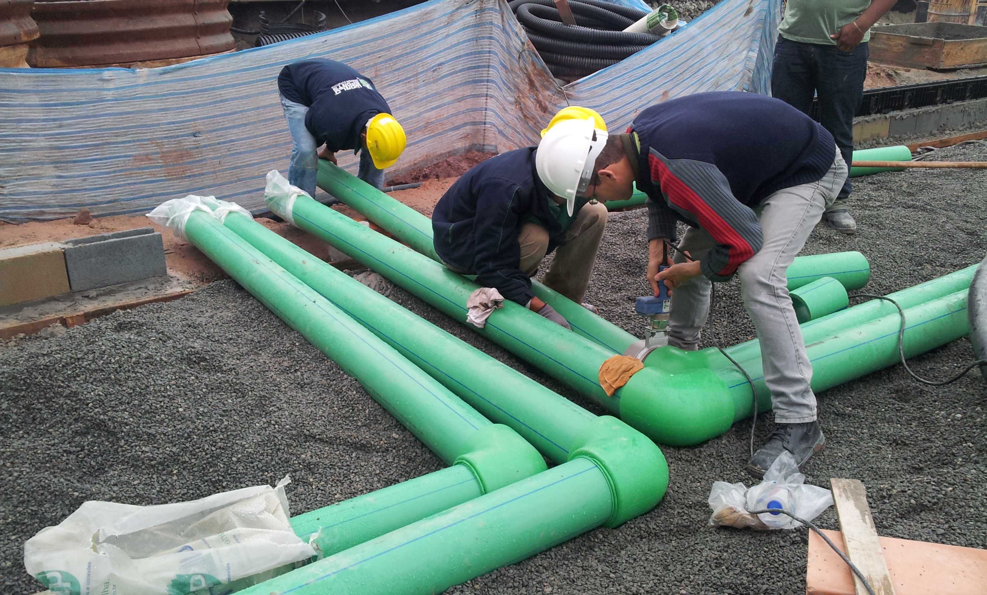 Hydronics pipes