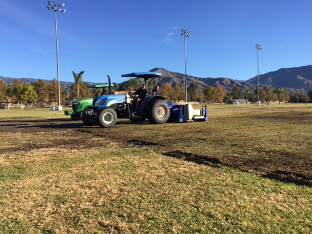 Leveling and Turf renovation