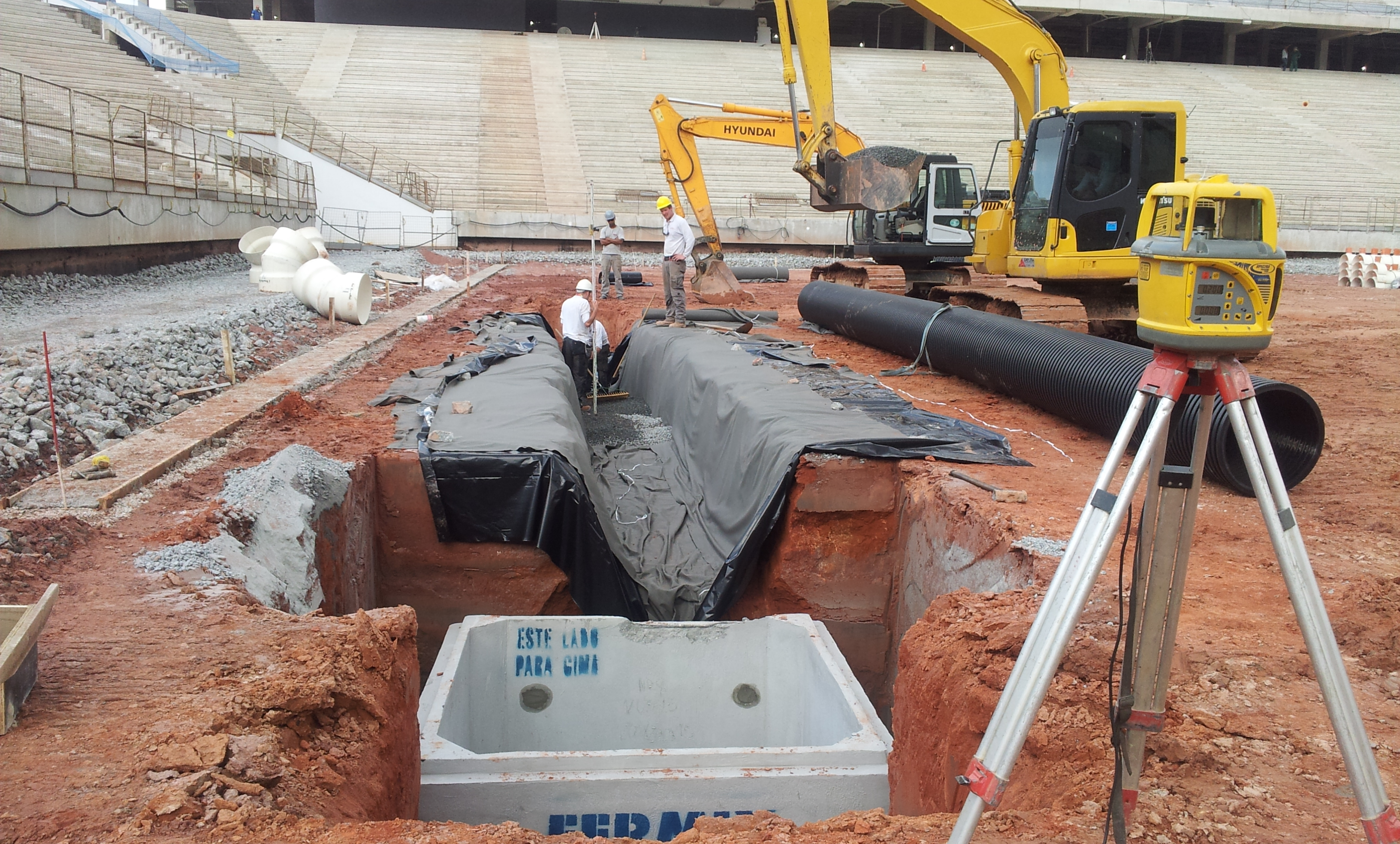 Main Drainage Pipes