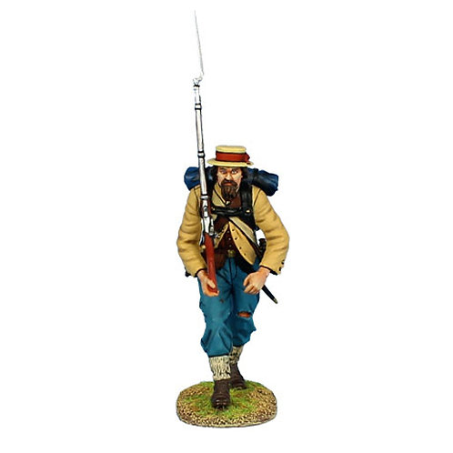 MB007 - Confederate Infantry Advancing
