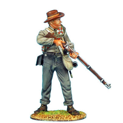 ACW046 - Confederate Infantry Standing Ready