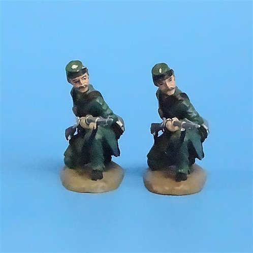 CORD-049 Berdan's Sharpshooters Kneeling Loading (2 Figs) - Franklin Mint - 54mm