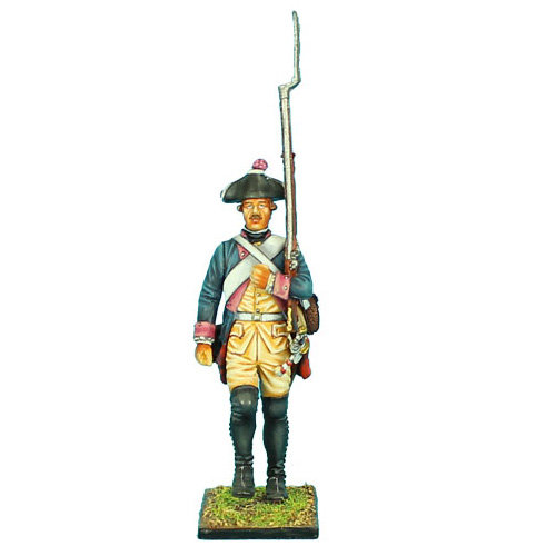 SYW010 - Prussian 7th Line Infantry Regiment Musketeer Marching