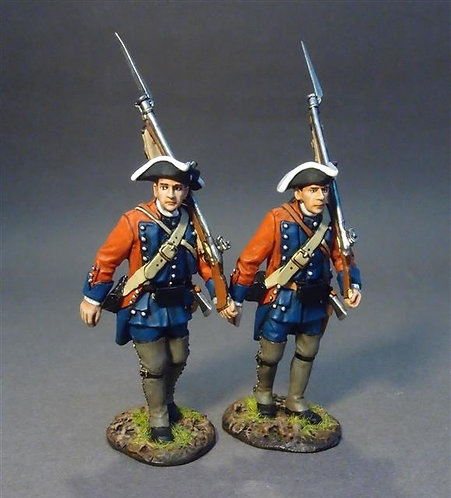 RRB60-10 - 2 Line Infantry Marching  60th (Royal American) Regiment of Foot