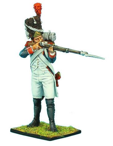 NAP332 - French 18th Line Infantry Grenadier Standing Firing