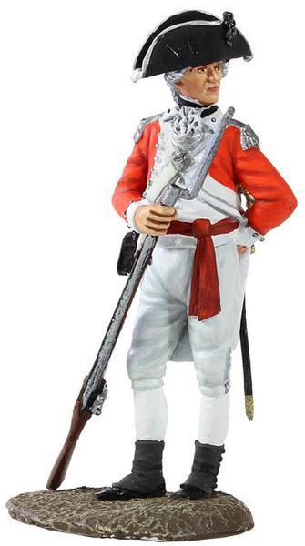 13000 - British Marine Officer, 1780