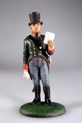 SNP028 - Officer, Carinthian Landwehr (Austria), 1809