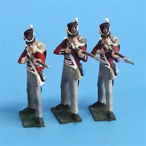 CORD-N0200 - British Infantry - Standing Firing (3 Pieces) - Tradition - 54mm