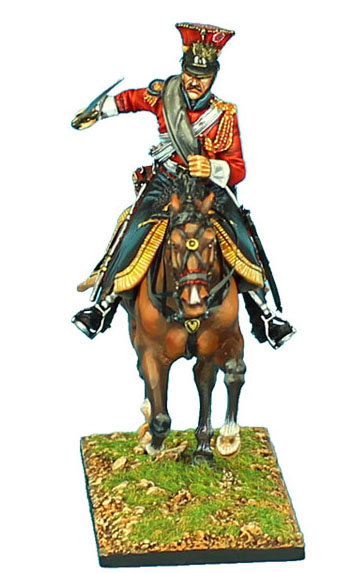 """NAP426 - 2nd Dutch """"Red"""" Lancers of the Imperial Guard Trooper with Sword #2"""