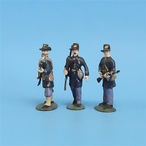 CORD-205 - Iron Brigade (3 Figures) - Manufacturer Unknown - 54mm Metal - No Box