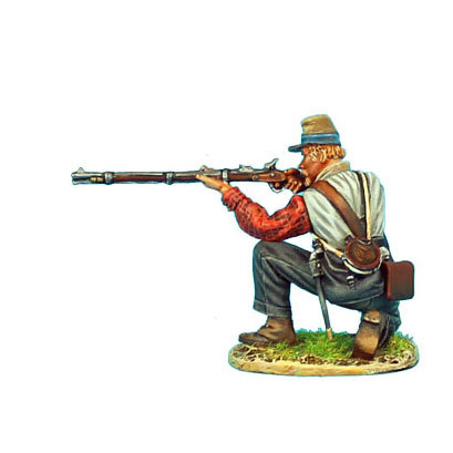 ACW057 - Confederate Infantry Kneeling Firing