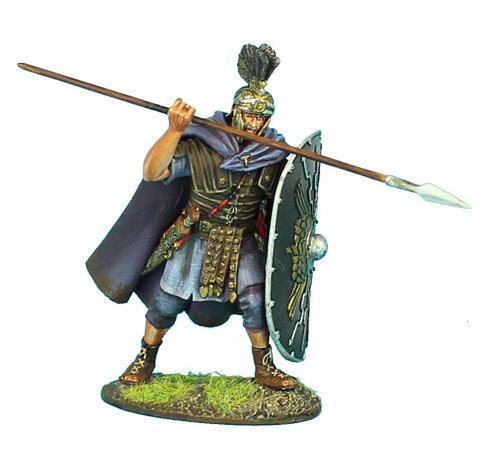 ROM102 - Imperial Roman Praetorian Guard with Spear #1