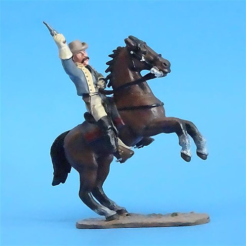 CORD-1059 - Confederate Cavalry - ACW - Del Prado - 60mm Metal - No Box