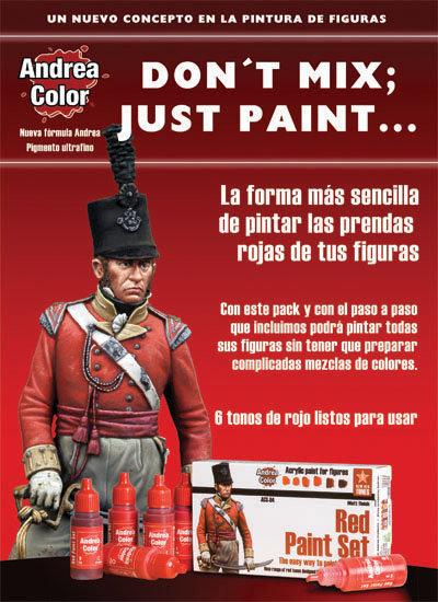 ACS-004 - Red Paint Set - Andrea Color