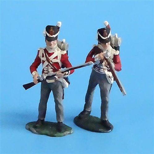 CORD-N0203 - British Infantry  (2 Pieces) - Tradition - 54mm Metal - No Box