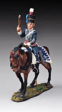 NAP26B - British Napoleonic Cavalry (Busby Hat)