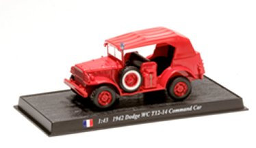 CBO069 - Dodge WC T12-14 Command Car,1942, France  Scale: 1:43