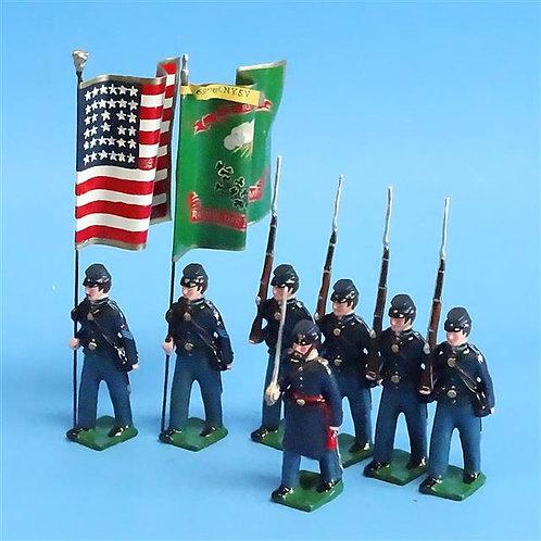 COWF-0140 - 69th NY State Volunteer Inf Regt (1st Regt, Irish Brigade, 2 Flags)