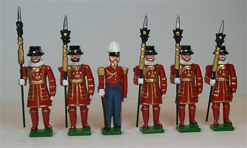 B225 - Yeoman of the Guard - 6 pieces