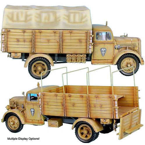 DAK011 - Das Deutsche Afrika Korps Opel Blitz Truck