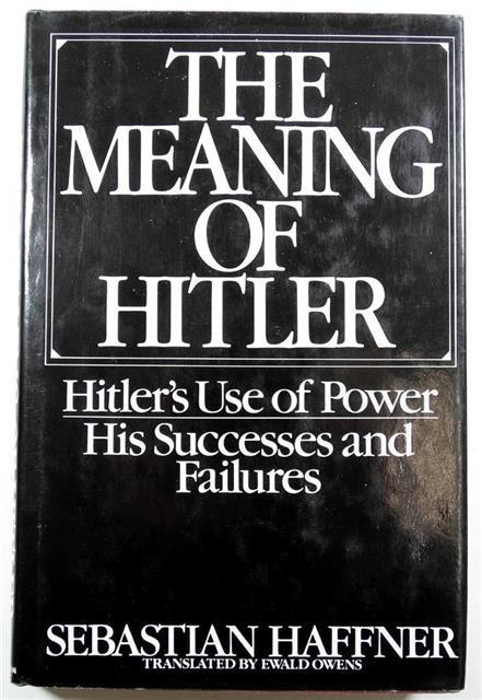 BK087 - The Meaning of Hitler by Sebastian Haffner
