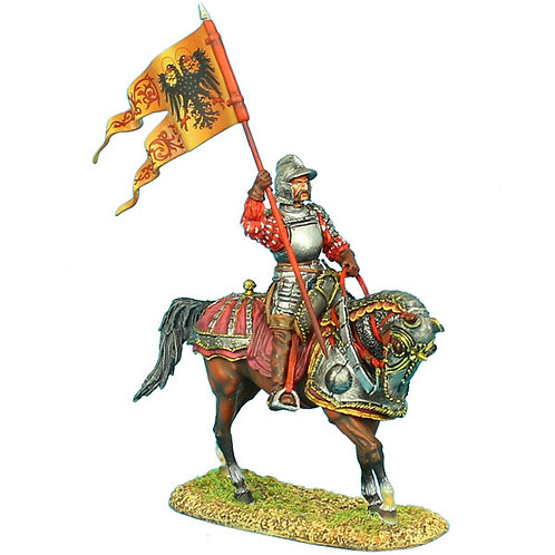 REN017 - German Landsknecht Holy Roman Empire Standard Bearer