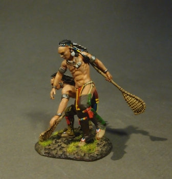 WIM-11 - Woodland Indian Lacrosse Players