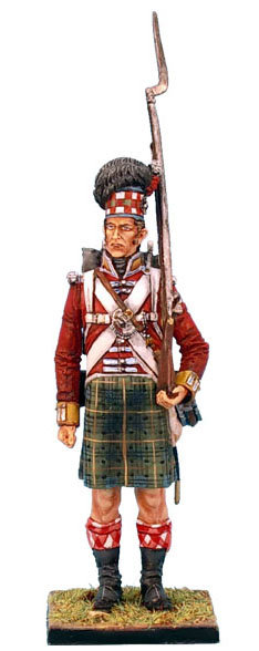 NAP0212 - 92nd Gordon Highlander Standing