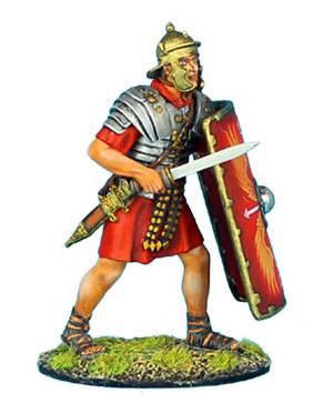 ROM008 - Imperial Roman Legionnaire with Gladius