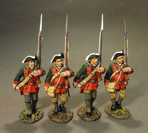 RRBPEN-06N - Pennsylvania Provincial Regiment, 4 Line Infantry Marching