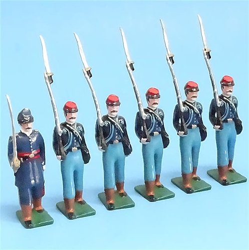 COWF-0008 - 11th Indiana Volunteer Infantry Regiment - Wallace's Zouaves