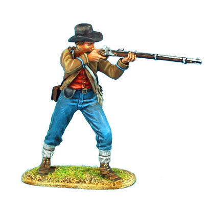 ACW047 - Confederate Infantry Standing Firing