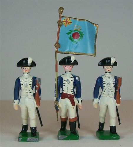 A255 - New Hampshire Regiment - 3 pieces