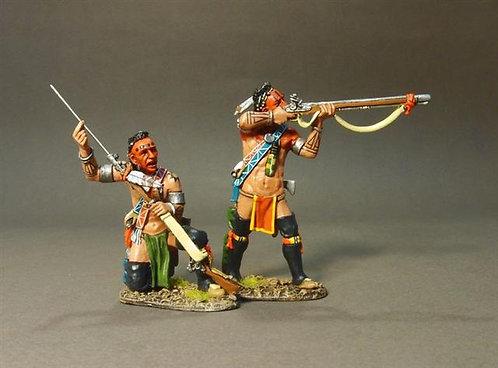 RR-31A - Stockbridge Indians, Woodland Indians Skirmishing A